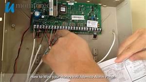 How To Wire Your New Honeywell  Ademco Alarm Panel
