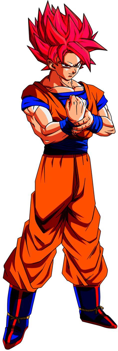 Goku LendArio Super Saiyajin Deus by SUPERFERNANDOXT on