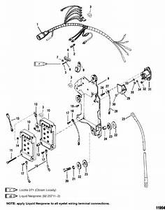 Mercury Marine V  Starter Solenoid Parts