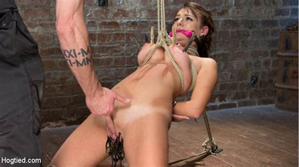 #Charlotte #Cross #Bound #& #Forced #To #Orgasm