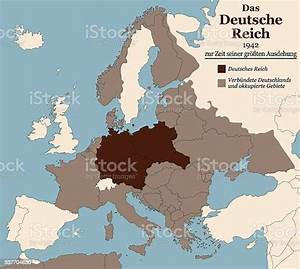 Third, Reich, Nazi, Germany, Greatest, Extent, German, Text, Stock