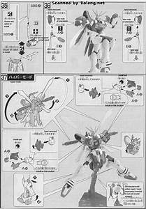 Hg G Gundam English Manual And Color Guide