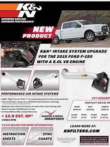 K U0026n Air Intake Upgrade For Your 2015 Ford F