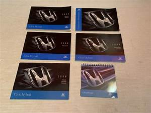 2008 Honda Civic Hybrid Owners Manual Book Set