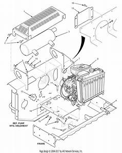 Scag Stt52a-23ka  S  N 7200001-7209999  Parts Diagram For Engine And Attaching Parts