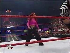 WWE - Lita vs. Stephanie McMahon: Raw June 12, 2000