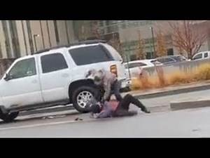 Antifa Blocks Car And Gets Knocked Out