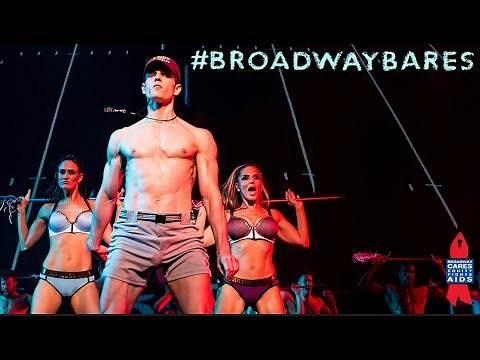 """Shirts vs. Skins """"Scrimmage"""" at Broadway Bares 2017"""